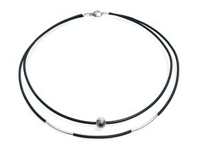 Maria silver necklace